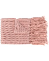 Rossignol Diago Chunky Knit Scarf - Pink