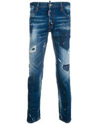 DSquared² - City Biker Jeans - Lyst