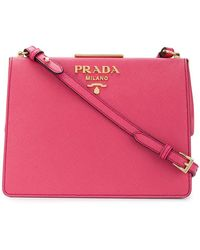Prada - Light Frame Shoulder Bag - Lyst