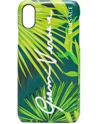 Versace プリント Iphone ケース - グリーン