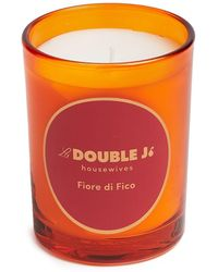 LaDoubleJ Fiore Del Fico Scented Candle (200g) - Orange
