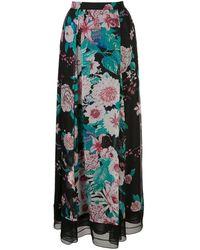 Diane von Furstenberg Heka Chiffon Maxi Skirt - Black