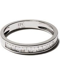 EF Collection ダイヤモンド リング 14kホワイトゴールド - メタリック