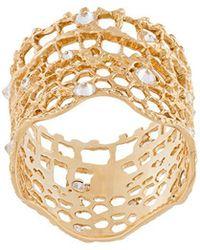 Aurelie Bidermann - 'vintage Lace' Diamond Ring - Lyst