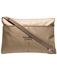 Pas Normal Studios X Porter-yoshida & Co. Brown Musette Shoulder Bag
