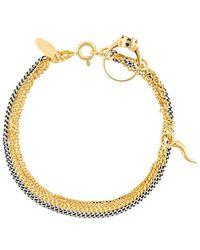 Iosselliani - 'silver Heritage' Ring Bracelet - Lyst