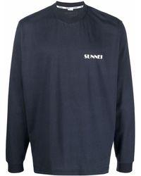 Sunnei ロゴ スウェットシャツ - ブルー