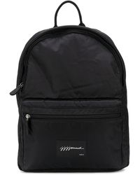 A.P.C. Front Patch Backpack - Black