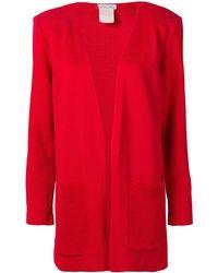 Dior Фактурный Пиджак 1980-х Годов Pre-owned - Красный