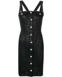 Versace Jeans - Button-up Dress - Lyst