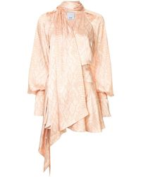 Acler Bradley Mini Dress - Pink
