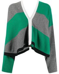 Hermès Укороченный Джемпер - Зеленый