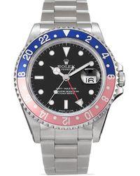 Rolex Наручные Часы Pre-owned Gmt-master 40 Мм 1996-го Года - Черный