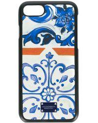 Dolce & Gabbana Majolica Print Iphone 8 Case - Multicolour
