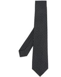 Kiton - Micro Print Tie - Lyst