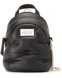 Maison Margiela Мини-рюкзак Glam Slam - Черный