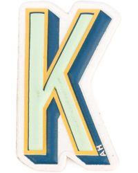 Anya Hindmarch K Logo Sticker - Blue
