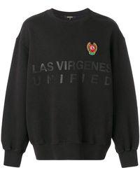 Yeezy Printed Appliqué Sweater - Black
