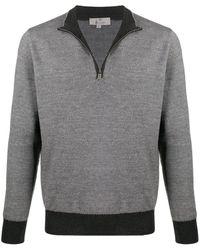 Canali スウェットシャツ - ブラック