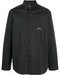 OAMC Duane ボタン シャツ - ブラック