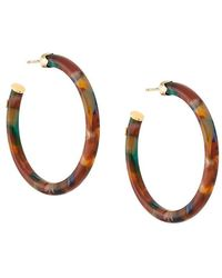 Gas Bijoux - Caftan Hoop Earrings - Lyst