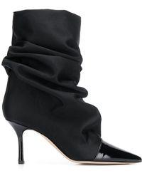 Marc Ellis Slouchy Boots - Black