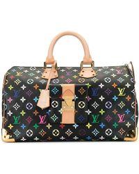 Louis Vuitton Speedy 30 Holdall - Black