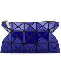 Bao Bao Issey Miyake Geometric Zipped Wallet - Blue