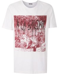 À La Garçonne Tigre Tシャツ - ホワイト