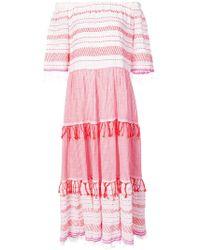 lemlem - Tiki Midi Tier Dress - Lyst