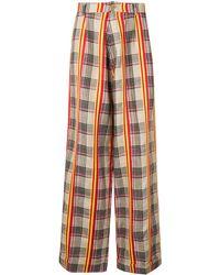 Walter Van Beirendonck Korova Checked Pants - Multicolor