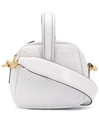 Marco De Vincenzo Chevron Stitch Mini Bag - White