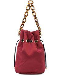 Edie Parker Klassische Handtasche - Rot