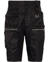 1017 ALYX 9SM マルチポケット ショートパンツ - ブラック