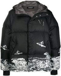 Undercover Black Valentino Edition Down Ufo Jacket