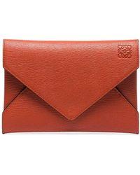 Loewe Клатч Envelope - Красный