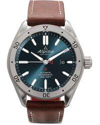 Alpina Наручные Часы Alpiner 4 44 Мм - Синий