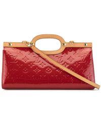 Louis Vuitton Bolso Vernis Roksbury Drive 2way 2008 - Rojo