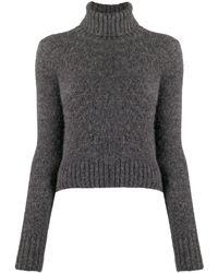 AMI タートルネック セーター - グレー
