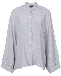 Nili Lotan - Striped Shirt - Lyst