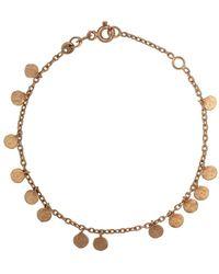 Kismet by Milka Bracciale con perline in oro rosa 14kt - Metallizzato