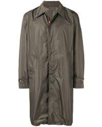 Bally Packable Overcoat - Grey