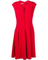 Stella McCartney - レースアップフロント ドレス - Lyst