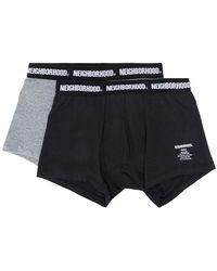 Neighborhood - Two-pack Logo Boxers - Lyst