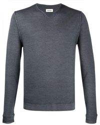 Zadig & Voltaire スカラップネック セーター - グレー