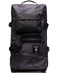 Eastpak X Aape By A Bathing Ape Gray Tranverz Wheeled Holdall - Black