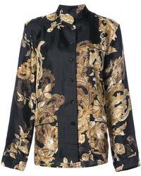 Vera Wang - Ormalu Printed Pyjama Shirt - Lyst