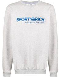 Sporty & Rich Science Of Good Health スウェットシャツ - グレー