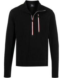 3 MONCLER GRENOBLE Half-zip Pullover Fleece - Black