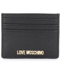 Love Moschino カードケース - ブラック